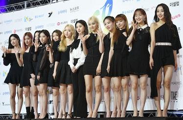 SEOUL, SOUTH KOREA - AUGUST 27: Loona attends 2019 Soribada Best K-Music Awards at Olympic Park KSPO...