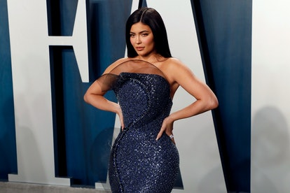 BEVERLY HILLS, CALIFORNIA - FEBRUARY 09: Kylie Jenner attends the 2020 Vanity Fair Oscar Party at Wa...
