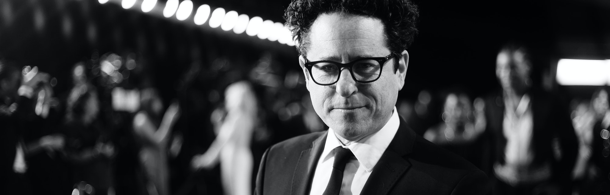 BEVERLY HILLS, CALIFORNIA - FEBRUARY 09: (This image has been photographed in Black and white) J.J. Abrams attends the 2020 Vanity Fair Oscar Party hosted by Radhika Jones at Wallis Annenberg Center for the Performing Arts on February 09, 2020 in Beverly Hills, California. (Photo by Rich Fury/VF20/Getty Images for Vanity Fair)