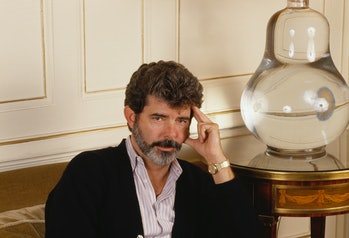 American Director George Lucas (Photo by Sergio Gaudenti/Sygma via Getty Images)