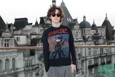 Timothee Chalamet attending the Little Women photocall held at the Corinthia, London. (Photo by Lia Toby/PA Images via Getty Images)