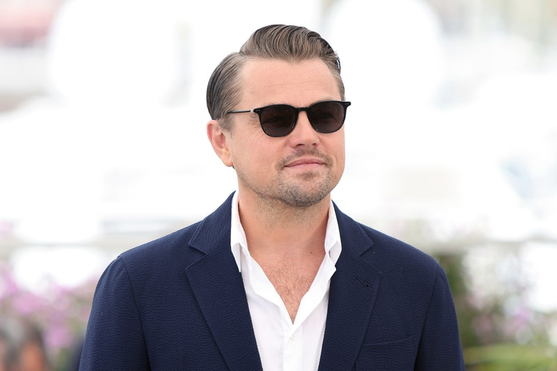 "CANNES, FRANCE - MAY 22: Leonard DiCaprio attends the photocall for ""Once Upon A Time In Hollywood"" during the 72nd annual Cannes Film Festival on May 22, 2019 in Cannes, France. (Photo by Laurent KOFFEL/Gamma-Rapho via Getty Images)"