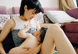 Mother, New, Sleeping, Breast Milk, China - East Asia, Shanghai