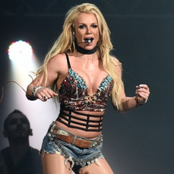 Britney Spears performs during Now! 99.7 Triple Ho Show 7.0 at SAP Center on December 3, 2016 in San Jose, California. (Photo by Tim Mosenfelder/Getty Images)