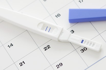 When trying to become pregnant, it's a good idea to track the days of your cycle on a calendar or sm...