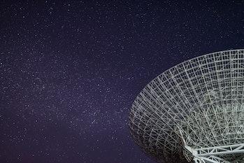 Radio Telescope and the Milky Way