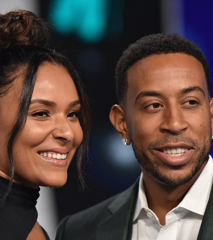 Rapper Ludacris and Eudoxie Mbouguiengue arrive at the 2017 MTV Video Music Awards at The Forum on August 27, 2017 in Inglewood, California.  (Photo by Axelle/Bauer-Griffin/FilmMagic)
