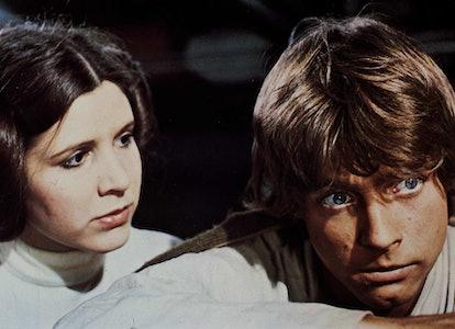 Kino. Krieg Der Sterne, 1970er, 1970s, Luke Skywalker, Prinzessin Leia, Science Fiction, Star Wars, ...