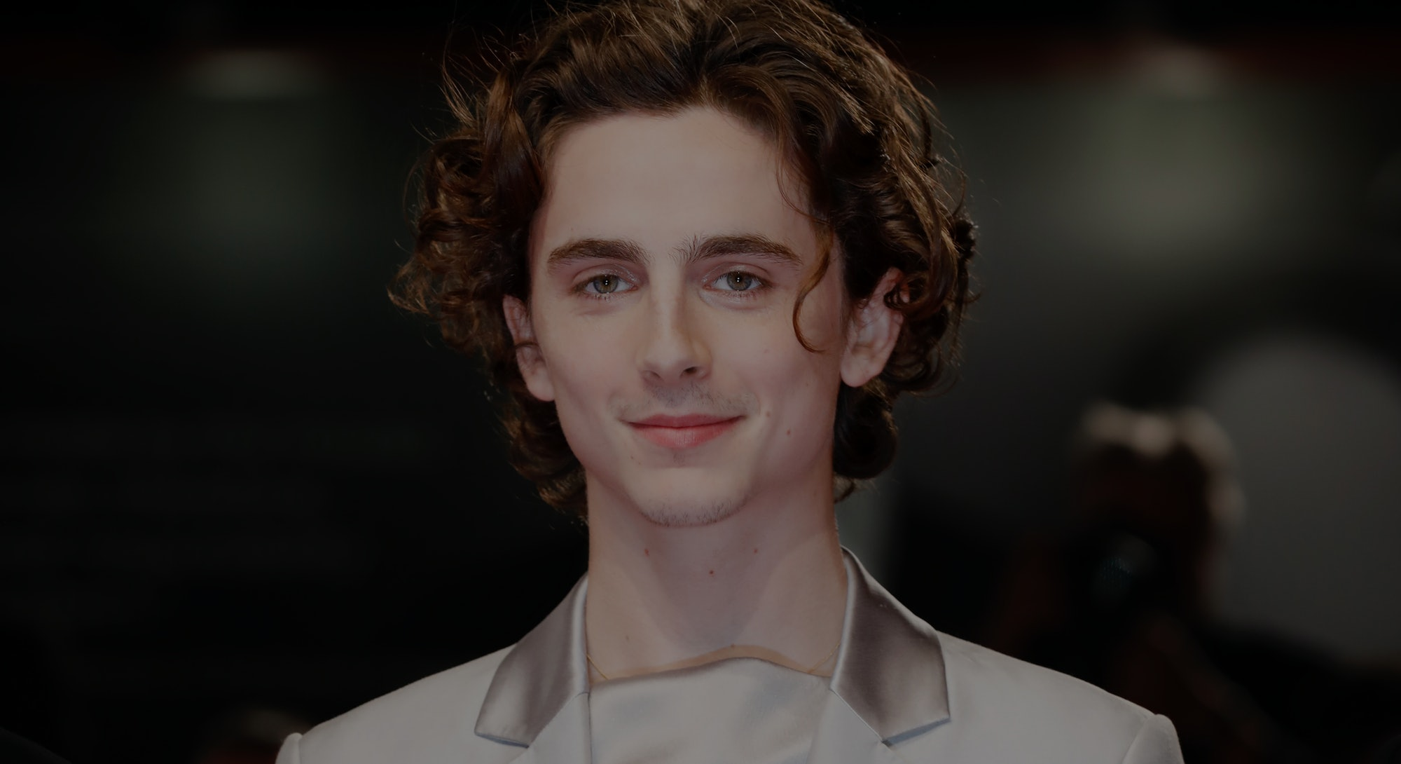 VENICE, ITALY - SEPTEMBER 2: (EDITORS NOTE: Image has been digitally retouched) Timothee Chalamet ar...