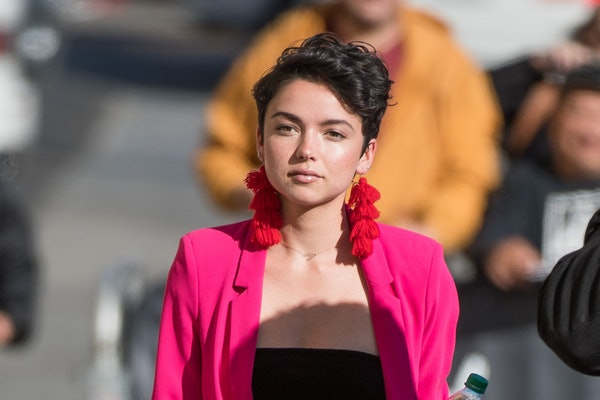 LOS ANGELES, CA - FEBRUARY 12: Bekah Martinez is seen at 'Jimmy Kimmel Live' on February 12, 2018 in Los Angeles, California.  (Photo by RB/Bauer-Griffin/GC Images)