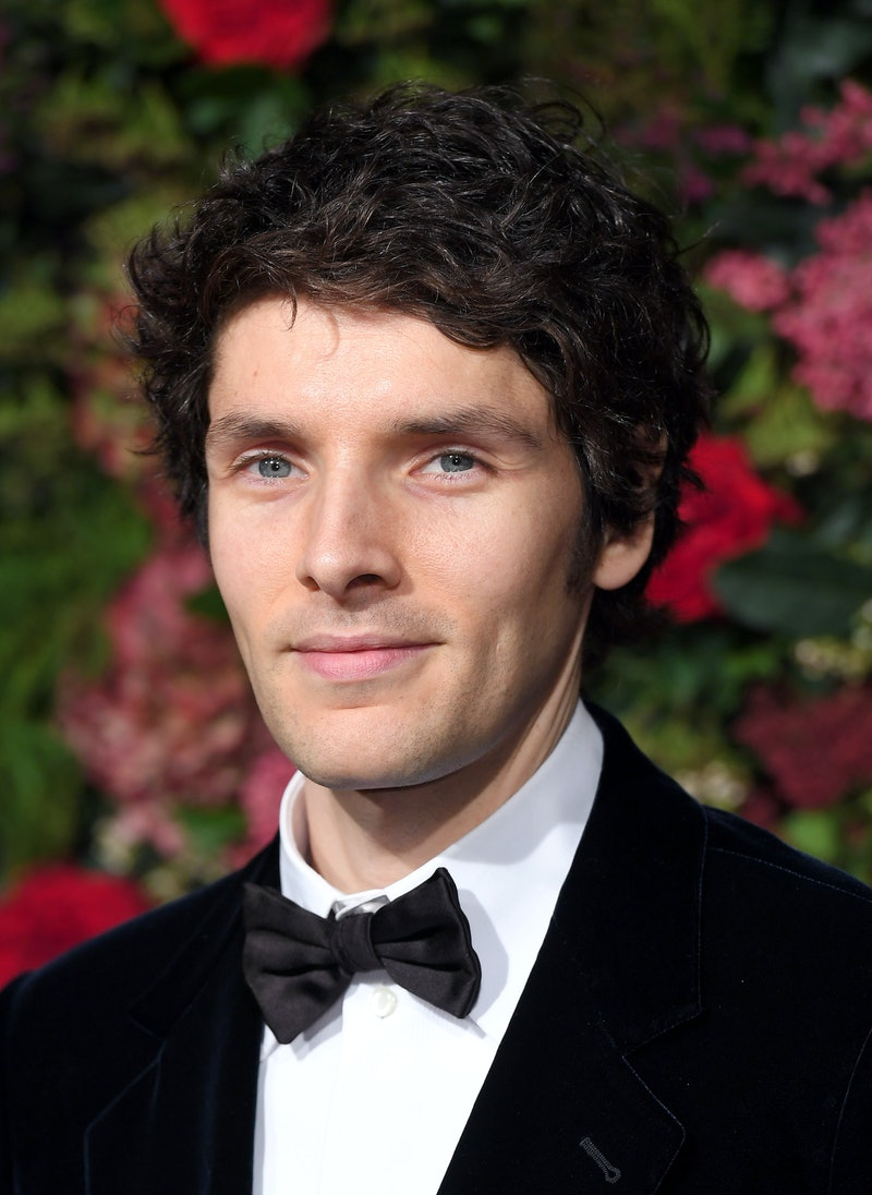 LONDON, ENGLAND - NOVEMBER 18:  Colin Morgan attends the Evening Standard Theatre Awards 2018 at Theatre Royal Drury Lane on November 18, 2018 in London, England.  (Photo by Karwai Tang/WireImage)