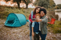 Camping with kids doesn't have to be difficult with these family tips.