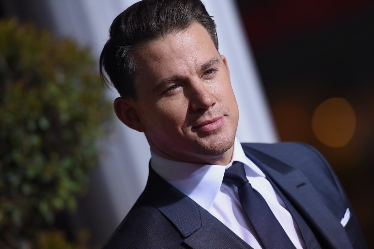 WESTWOOD, CA - FEBRUARY 01:  Actor Channing Tatum arrives at the premiere of Universal Pictures' 'Hail, Caesar!' at Regency Village Theatre on February 1, 2016 in Westwood, California.  (Photo by Axelle/Bauer-Griffin/FilmMagic)