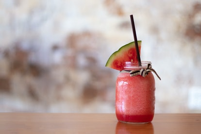 Watermelon juleps are a great Mother's Day drink.