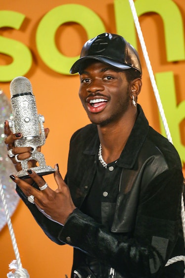 LOS ANGELES, CALIFORNIA - MARCH 13: Lil Nas X poses as Logitech Celebrates Creators With First-Ever ...