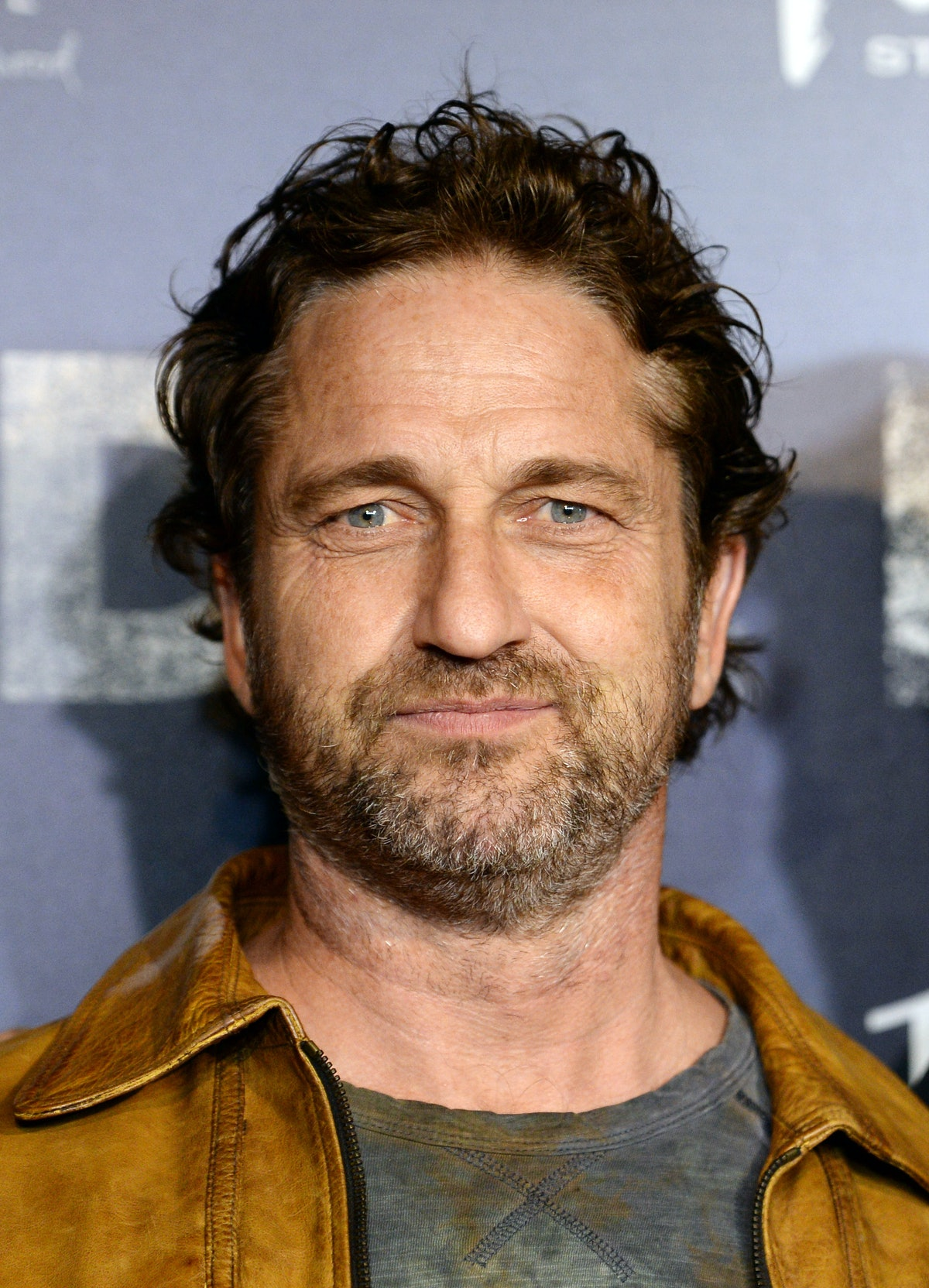 """WEST HOLLYWOOD, CALIFORNIA - FEBRUARY 27: Actor Gerard Butler arrives at the premiere of """"Burden"""" at the Silver Screen Theater at the Pacific Design Center on February 27, 2020 in West Hollywood, California. (Photo by Amanda Edwards/Getty Images)"""