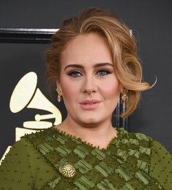 Adele just celebrated her 33rd birthday with some selfies.