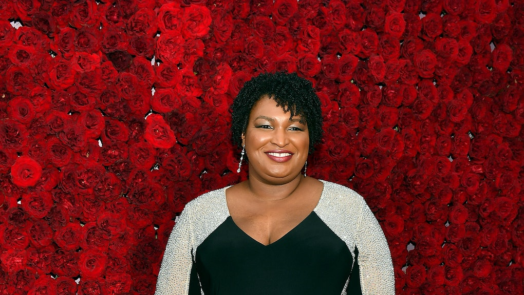 ATLANTA, GEORGIA - OCTOBER 05: Stacey Abrams attends Tyler Perry Studios grand opening gala at Tyler Perry Studios on October 05, 2019 in Atlanta, Georgia. (Photo by Paras Griffin/Getty Images for Tyler Perry Studios)