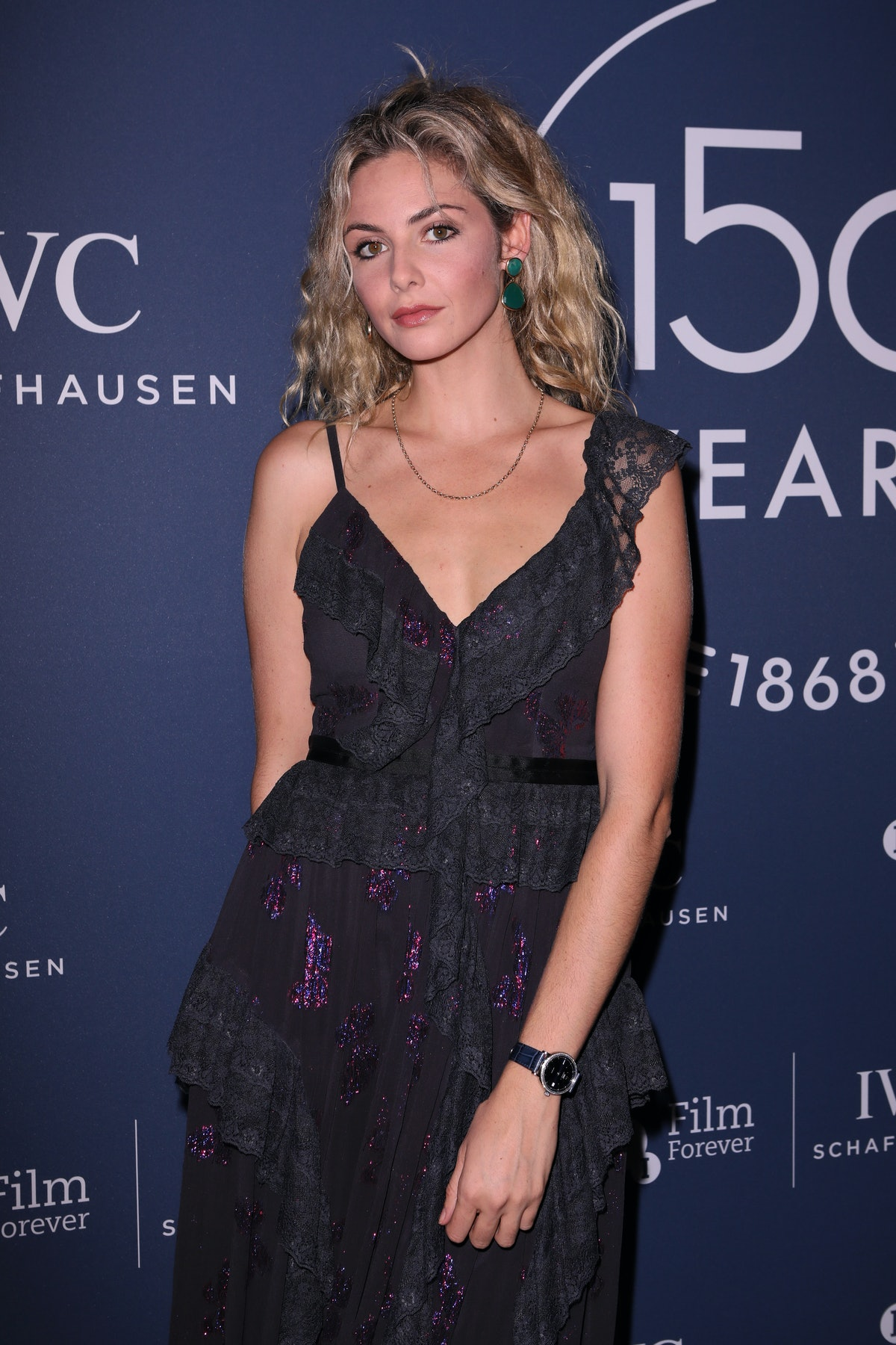 """LONDON, ENGLAND - OCTOBER 09:   Tamsin Egerton attends the IWC Schaffhausen Filmmaker Bursary Award ceremony in association with the BFI at the Electric Light Station on October 9, 2018 in London, England. During the event, director Edgar Wright presented the third annual """"IWC Schaffhausen Filmmaker Bursary Award in Association with the BFI"""" worth £50,000.  (Photo by David M. Benett/Dave Benett/Getty Images for IWC Schaffhausen)"""