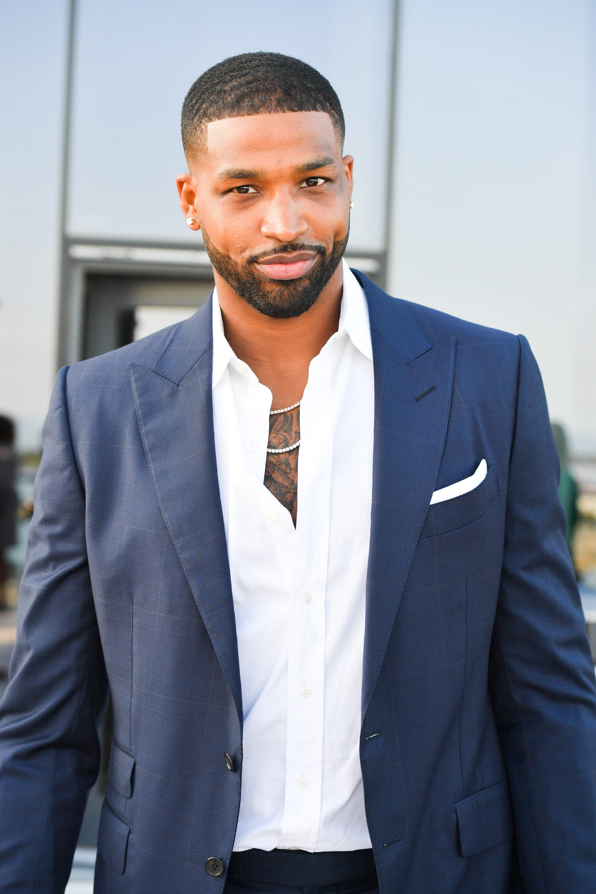 TORONTO, ONTARIO - AUGUST 01: NBA Champion Tristan Thompson attends The Amari Thompson Soiree 2019 in support of Epilepsy Toronto held at The Globe and Mail Centre on August 01, 2019 in Toronto, Canada. (Photo by George Pimentel/Getty Images)