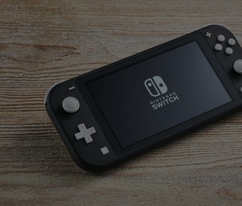 A 2019 Nintendo Switch Lite handheld video games console with a Gray finish, taken on November 7, 2019. (Photo by Olly Curtis/Future Publishing via Getty Images)