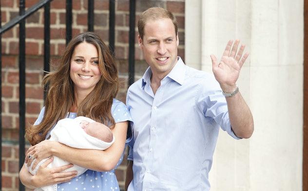 Prince George was a big baby.