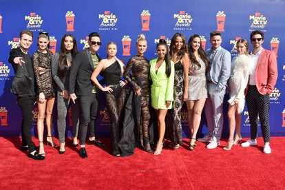 SANTA MONICA, CALIFORNIA - JUNE 15: The cast of Vanderpump Rules attends the 2019 MTV Movie and TV A...