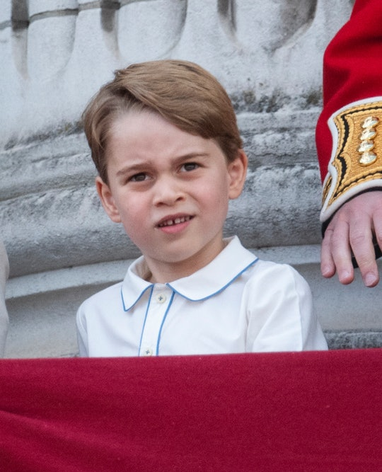 Prince George is a fascinating character.