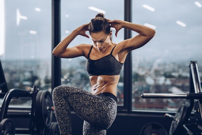 Leg raises will make you feel the burn in your lower abs.