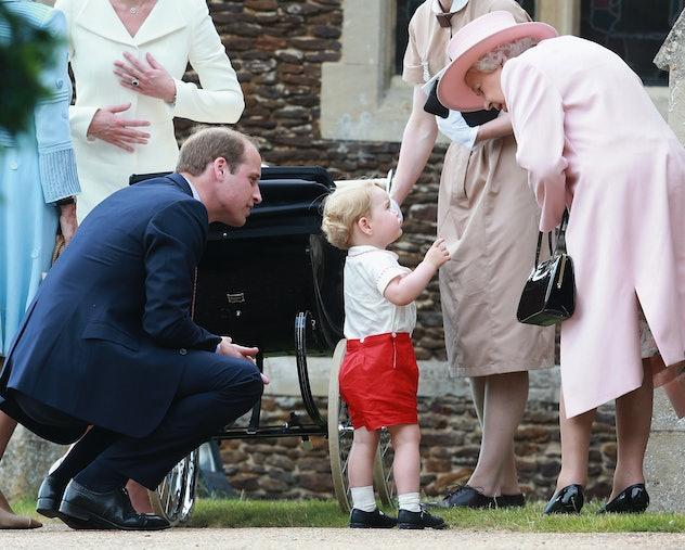 "Prince George calls the Queen ""Gan-Gan."""