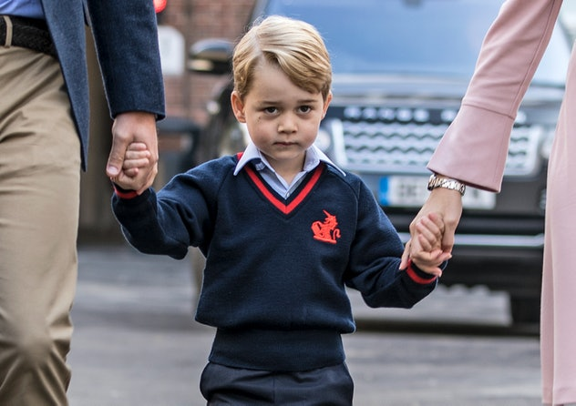 Prince George is learning ballet in school.