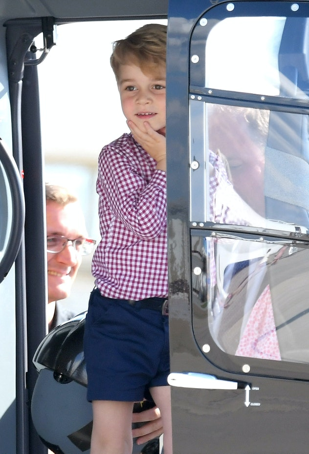 Prince George wants to be a pilot.