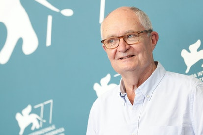 """VENICE, ITALY - SEPTEMBER 04: Jim Broadbent attends the photocall of the movie """"The Duke"""" at the 77th Venice Film Festival on September 04, 2020 in Venice, Italy. (Photo by Vittorio Zunino Celotto/Getty Images)"""