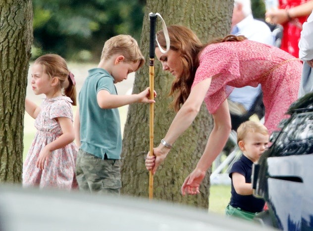 Prince George is competitive with his siblings.