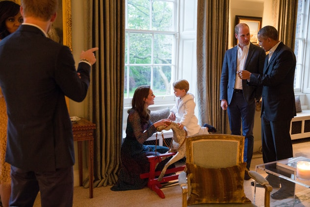 Prince George has gotten cool toys from celebrities.