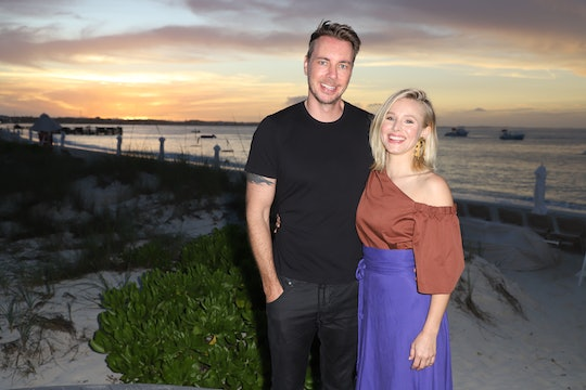 PROVIDENCIALES, PROVIDENCIALES - JANUARY 30:  Dax Shepard and Kristen Bell pose as she vacations with her family at Beaches Turks & Caicos Resort Villages & Spa on January 30, 2018 in Providenciales, Turks & Caicos.  (Photo by John Parra/Getty Images for Beaches)