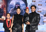 "HOLLYWOOD, CALIFORNIA - DECEMBER 09: Cree Hardrict, Tia Mowry-Hardrict, Cory Hardrict and Cairo Tiahna Hardrict arrives at the Premiere Of Sony Pictures' ""Jumanji: The Next Level"" on December 09, 2019 in Hollywood, California. (Photo by Steve Granitz/WireImage)"