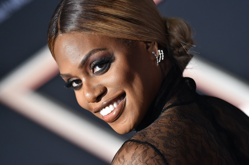 """LOS ANGELES, CALIFORNIA - NOVEMBER 11: Laverne Cox attends the Premiere of Columbia Pictures' """"Charlie's Angels"""" at Westwood Regency Theater on November 11, 2019 in Los Angeles, California. (Photo by Axelle/Bauer-Griffin/FilmMagic)"""