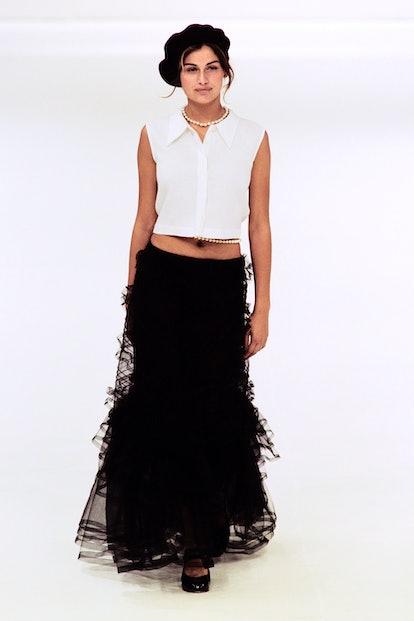 Chanel 1997 maxi skirt