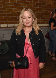 """LONDON, ENGLAND - SEPTEMBER 02: Nicola Coughlan attends the press night after party for """"The Son"""" at The Century Club on September 02, 2019 in London, England. (Photo by David M. Benett/Dave Benett/Getty Images)"""