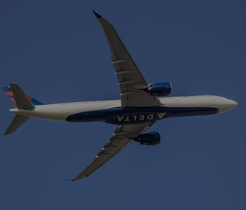 Delta Air Lines Airbus A330neo or A330-900 aircraft with neo engine option of the European plane man...