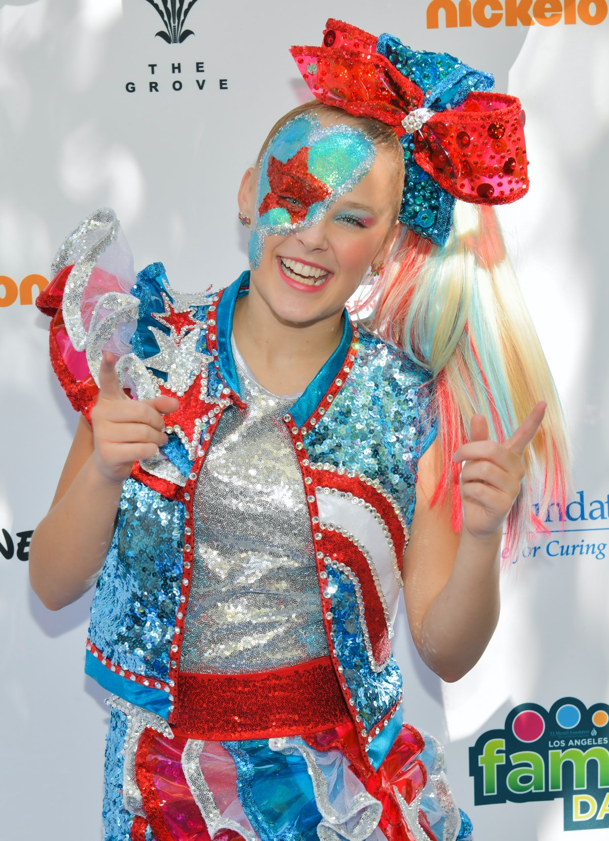 JoJo Siwa attends T.J. Martell Foundation's 10th Annual LA Family Day at The Grove on October 05, 2019 in Los Angeles, California. (Photo by Rodin Eckenroth/Getty Images)