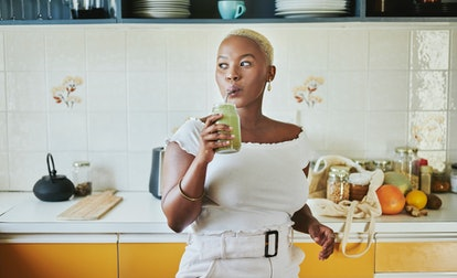Koktajle zawierają dużo naturalnych składników, które zamiast kawy mogą dodać Ci energii.