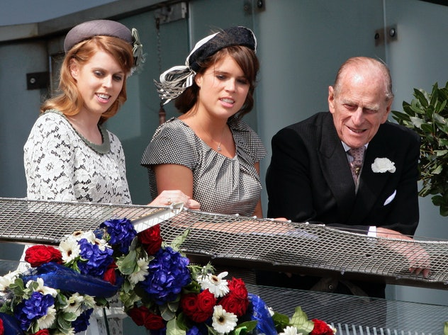 Prince Philip enjoys time with his granddaughters.
