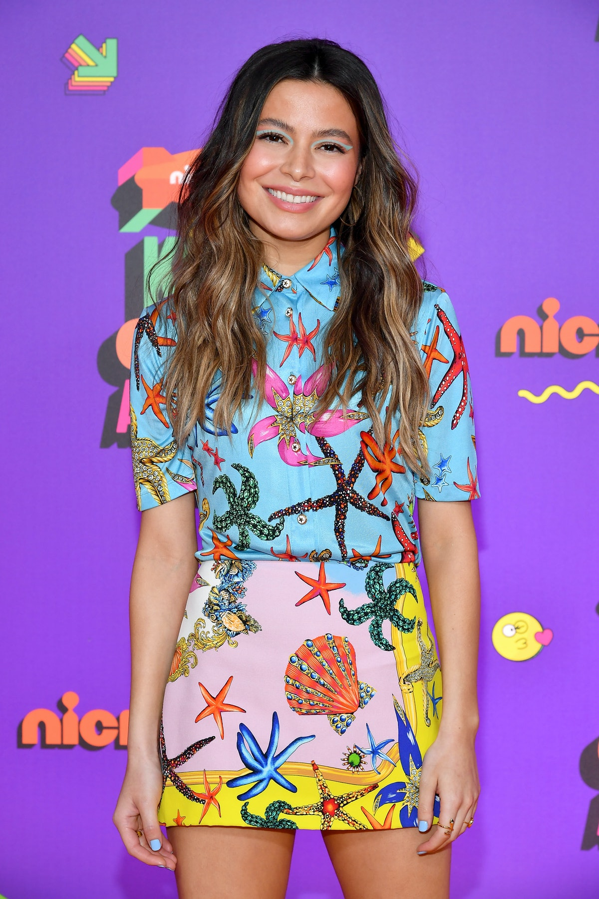 Miranda Cosgrove attends Nickelodeon's Kids' Choice Awards. She'll reprise her role as Carly Shay in the upcoming 'iCarly' revival.