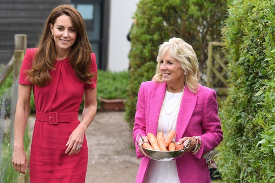 Jill Biden and Kate Middleton spoke about Lilibet.