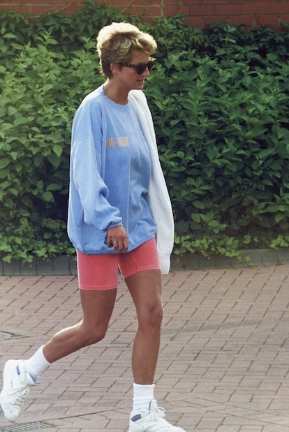 Princess Diana was a versatile style icon, from her lavish wedding gown to her chic revenge dress to her casual cool biker shorts. See her best outfits, here.