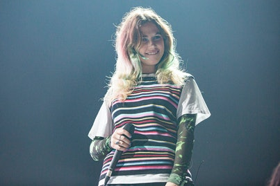 SAN DIEGO, CALIFORNIA - MARCH 09: Musician Clairo performs on stage at Pechanga Arena on March 09, 2020 in San Diego, California. (Photo by Daniel Knighton/Getty Images)