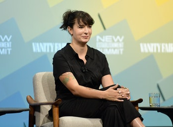 BEVERLY HILLS, CA - OCTOBER 09:  Creator of Jagged Little Pill: The Musical, Diablo Cody speaks onst...