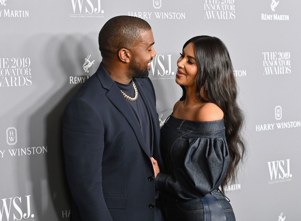 TOPSHOT - US media personality Kim Kardashian West (R) and husband US rapper Kanye West attend the WSJ Magazine 2019 Innovator Awards at MOMA on November 6, 2019 in New York City. (Photo by Angela Weiss / AFP) (Photo by ANGELA WEISS/AFP via Getty Images)